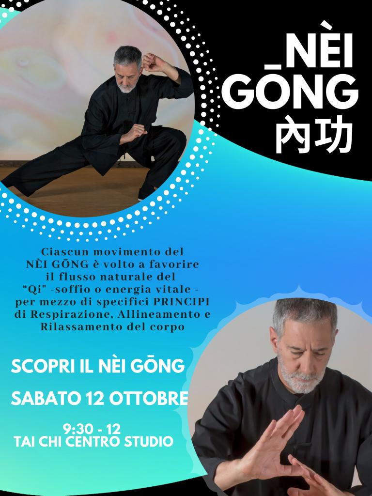Lezione speciale di Nèi Gong – Sabato 12 ottobre